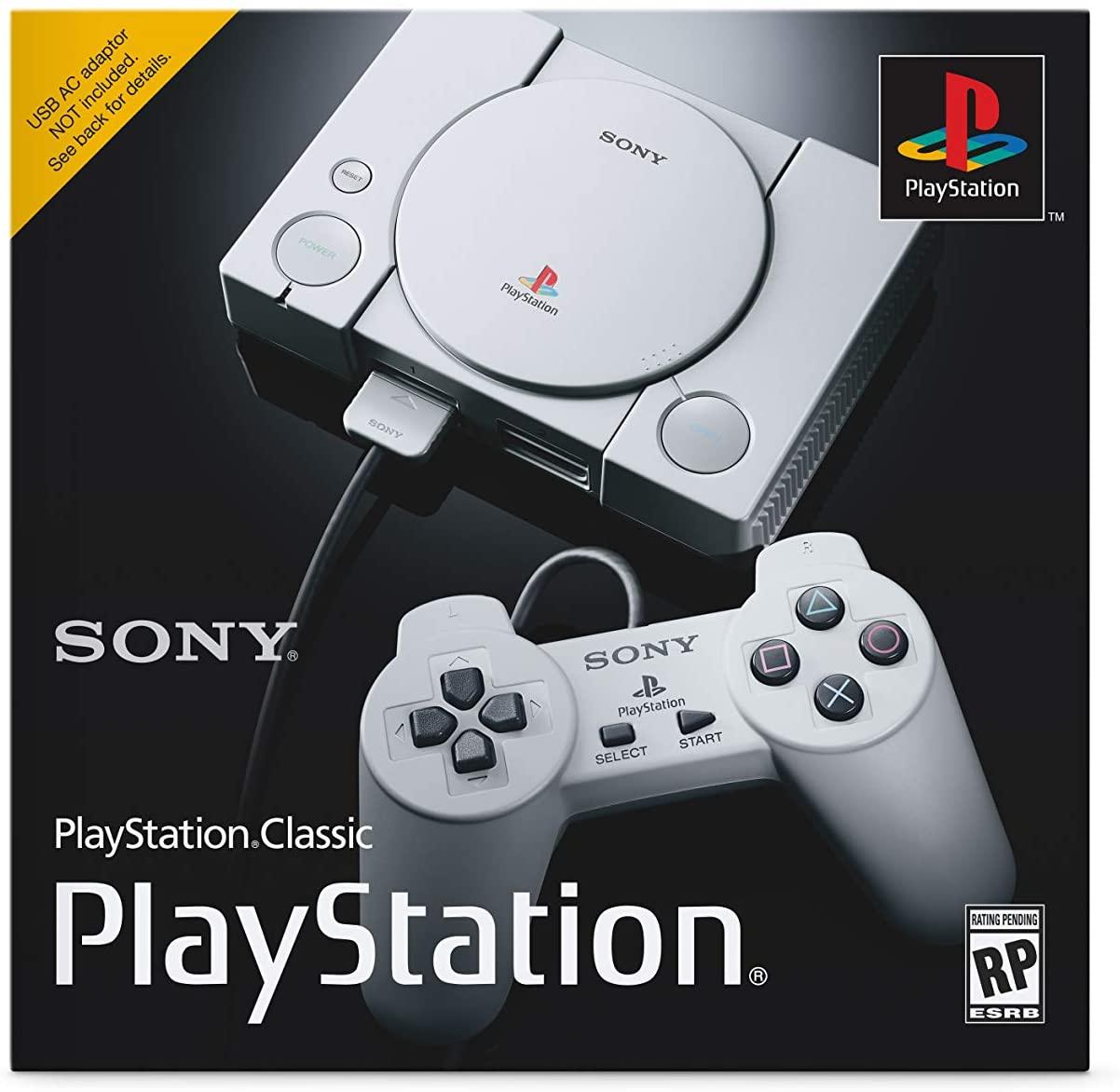 PLAYSTATION 1 CLASSIC دارای 20 بازی و 2 عدد کنترلر (دسته)