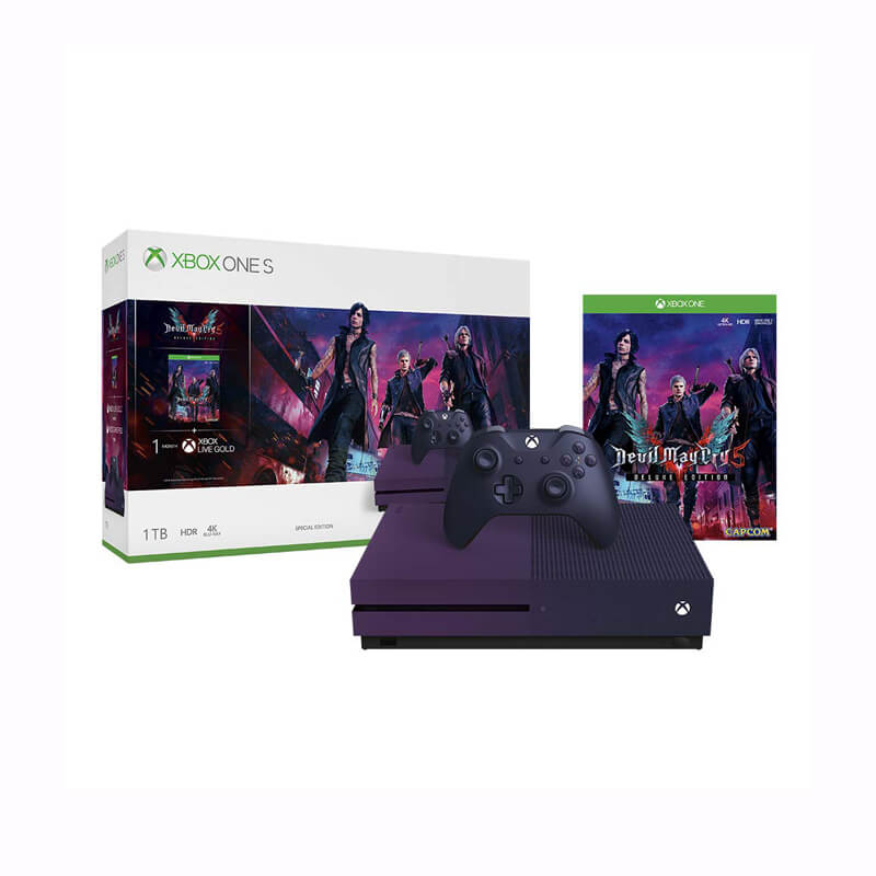 XBOX ONE S 1TB DMC 5 BUNDLE BOX