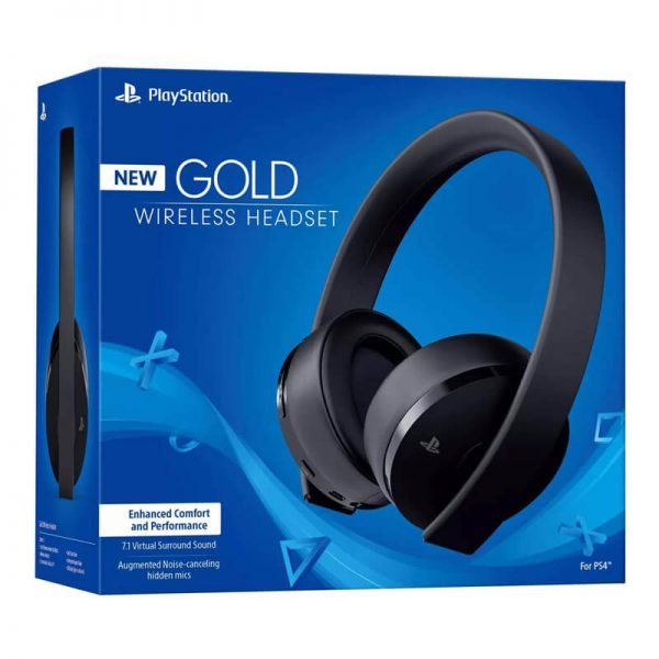 PS4 HEADSET GOLD BOX