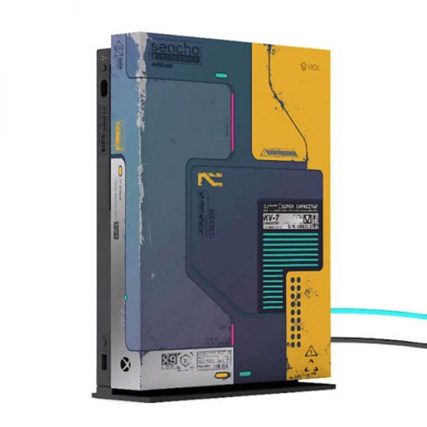 xbox one x cyberpunk console