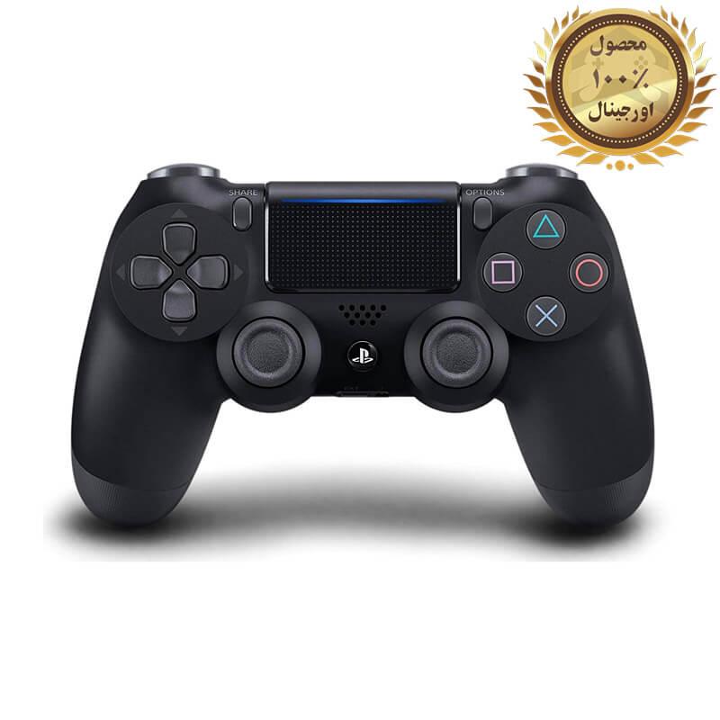 کنترلر (دسته) PS4 | فابریکی اورجینال | مشکی – استوک