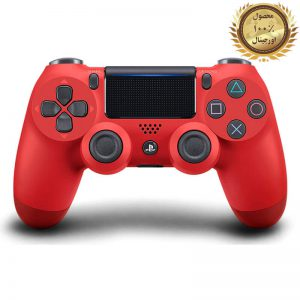 دسته اصلی PS4 قرمز