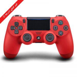 دسته PS4 قرمز بدل