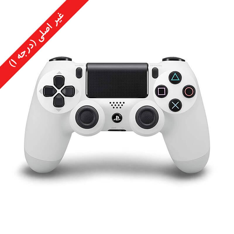 کنترلر (دسته) PS4 | غیر اصلی درجه 1 | سفید – آکبند