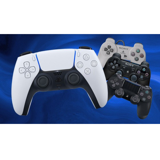 playstation 1,2,3,4,5 controllers