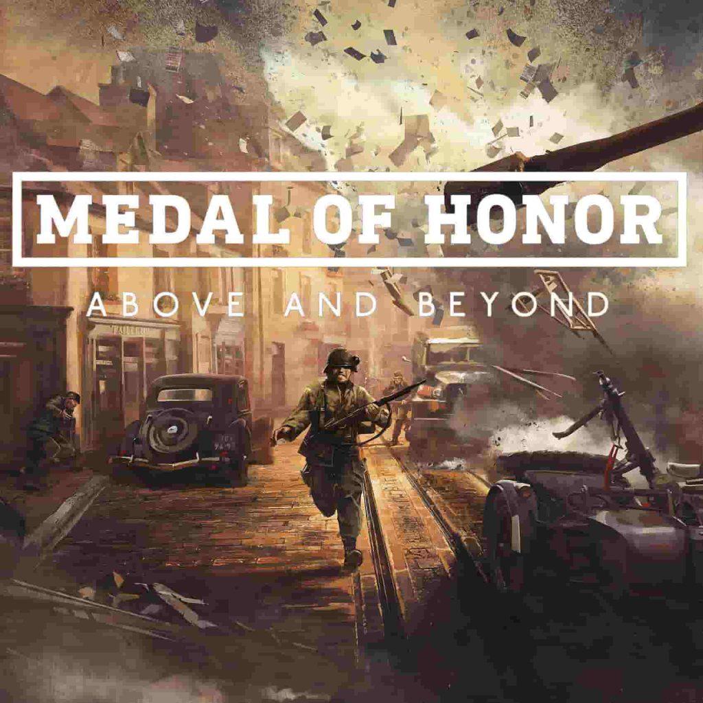 پوستری از بازی مدال افتخار