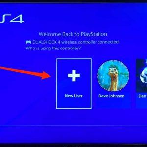 آموزش ساخت کاربر جدید در PS4 به صورت افلاین