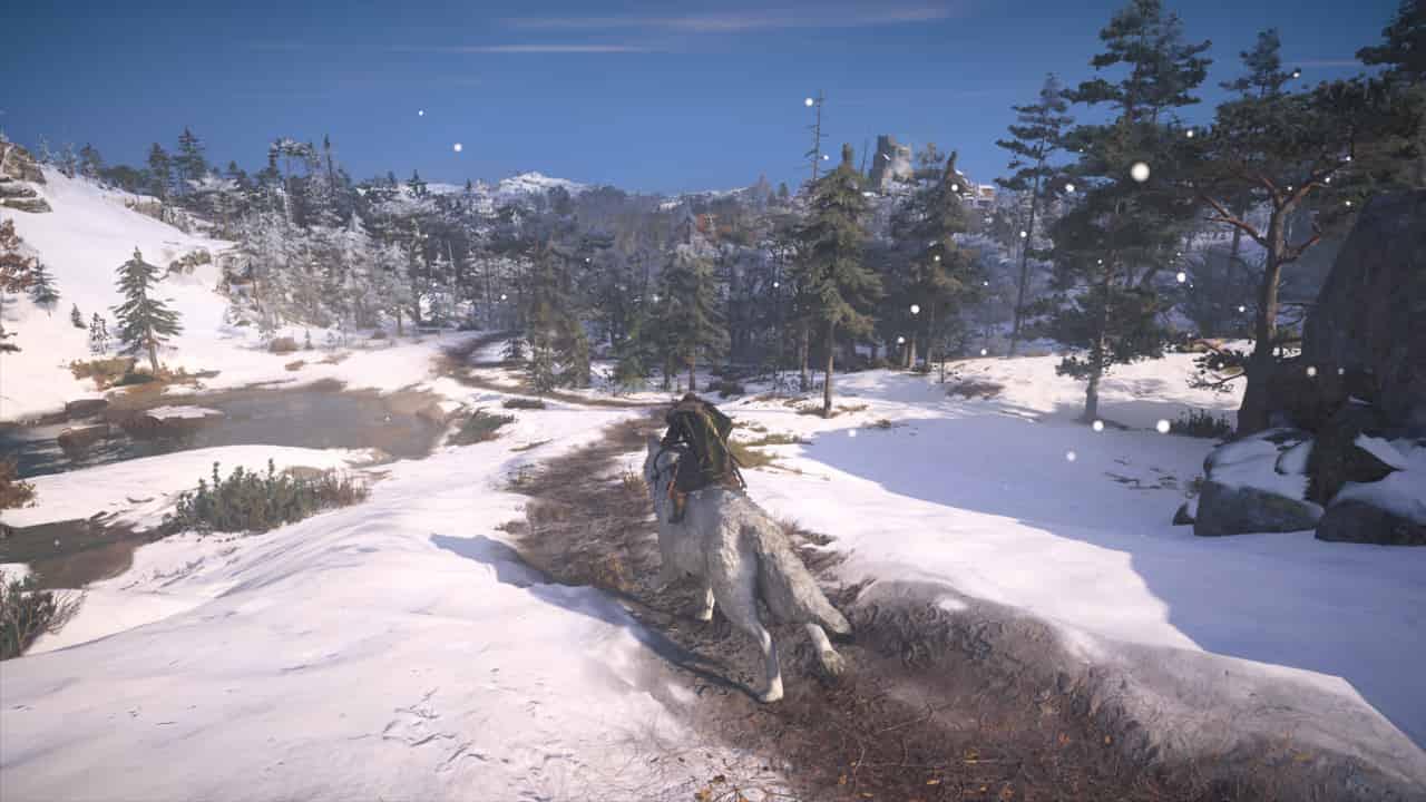 گرگ در بازی اساسینز کرید