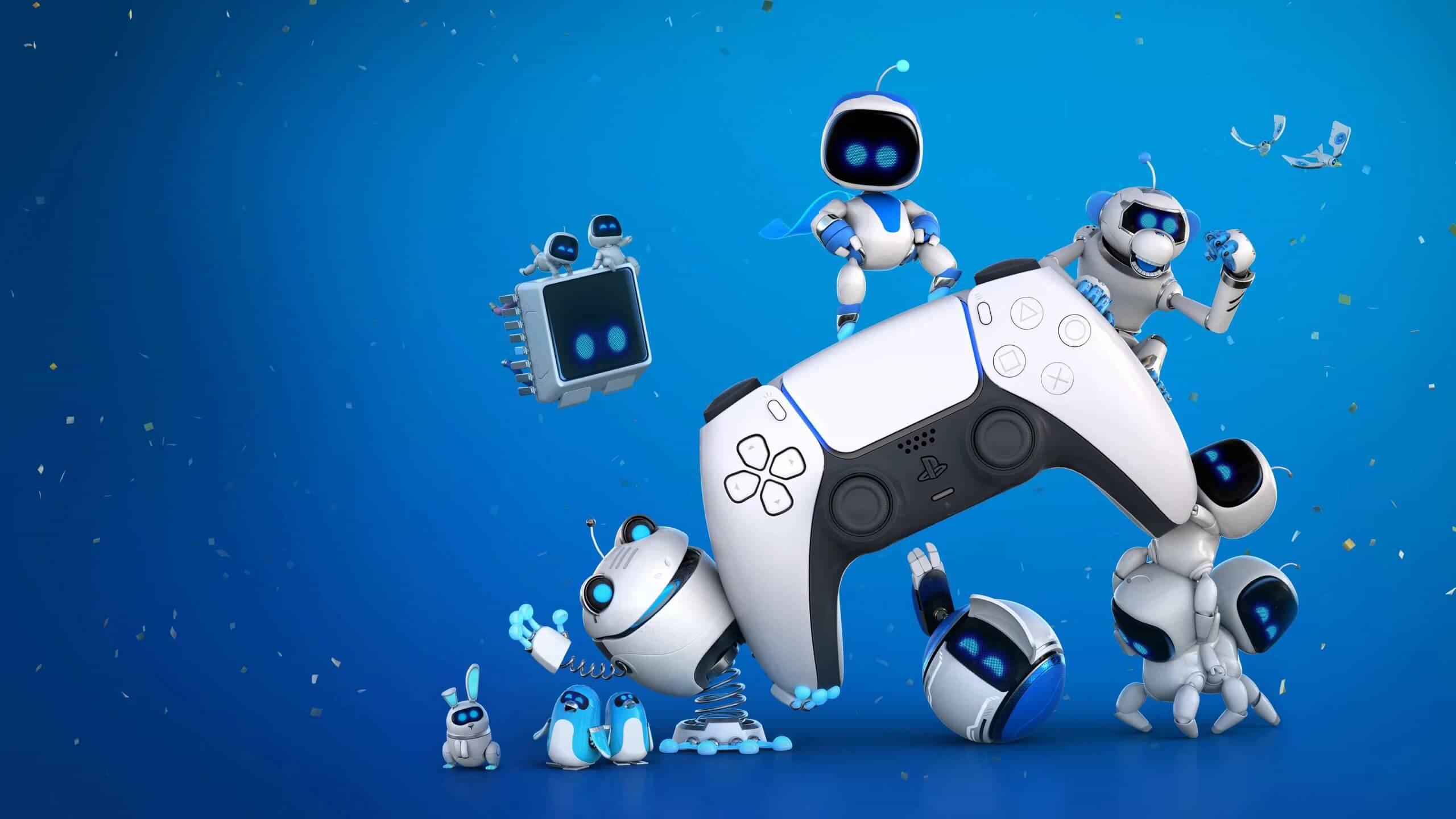 ps5 control an robots