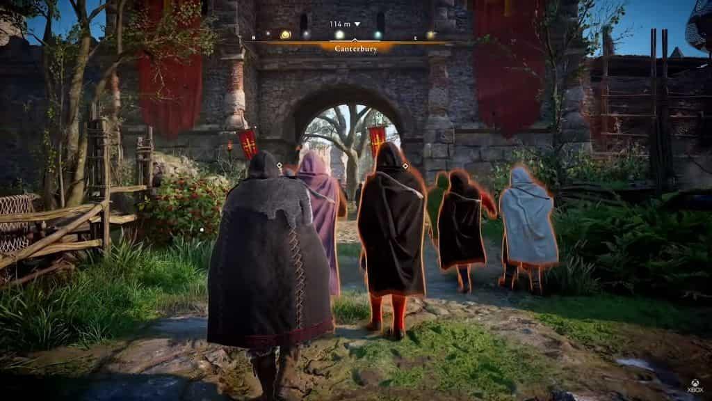 مخفی شدن کارکتر در بازی Assassin's Creed Valhalla