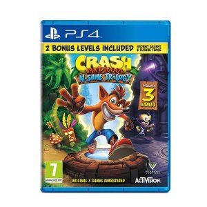 بازی Crash Bandicoot N. Sane Trilogy برای PS4-آکبند