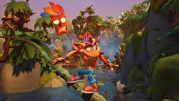 تصویر بازی Crash Bandicoot 4 It's About Time برای PS4