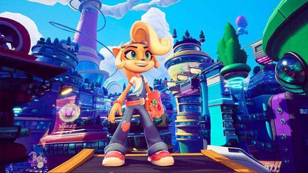 خرید بازی Crash Bandicoot 4 It's About Time برای PS4 - آکبند