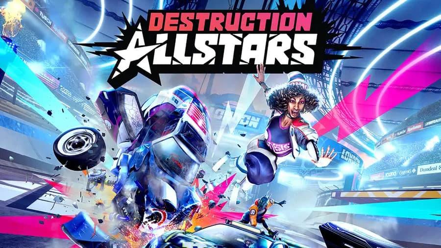پوستر بازی Destruction AllStars برای کنسول PS5
