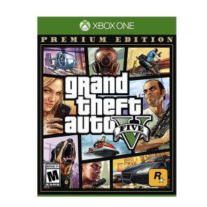 قیمت خرید بازی GTA V برای XBOX ONE-آکبند
