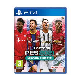 بازی PES 2021 برای PS4-آکبند