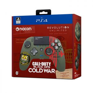 کنترلر (دسته) Nacon Revolution Unlimited Pro طرح call of duty cold war مخصوص PS4 و PC | آکبند