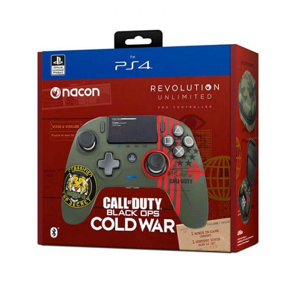 کنترلر (دسته) Nacon Revolution Unlimited Pro طرح call of duty cold war مخصوص PS4 و PC | آکبند