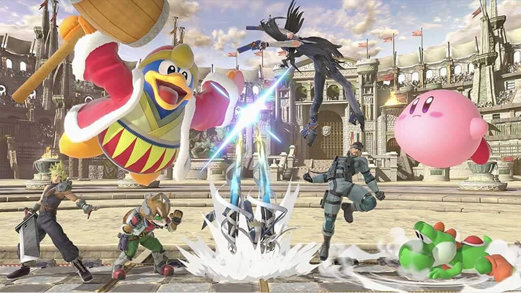 تصویر بازی Super Smash Bros Ultimate برای نینتندو سوییچ