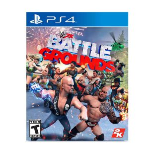 بازی WWE 2K Games Battlegrounds برای PS4-آکبند