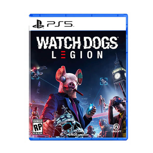 قیمت خرید بازی Watch Dogs Legion برای PS5-آکبند