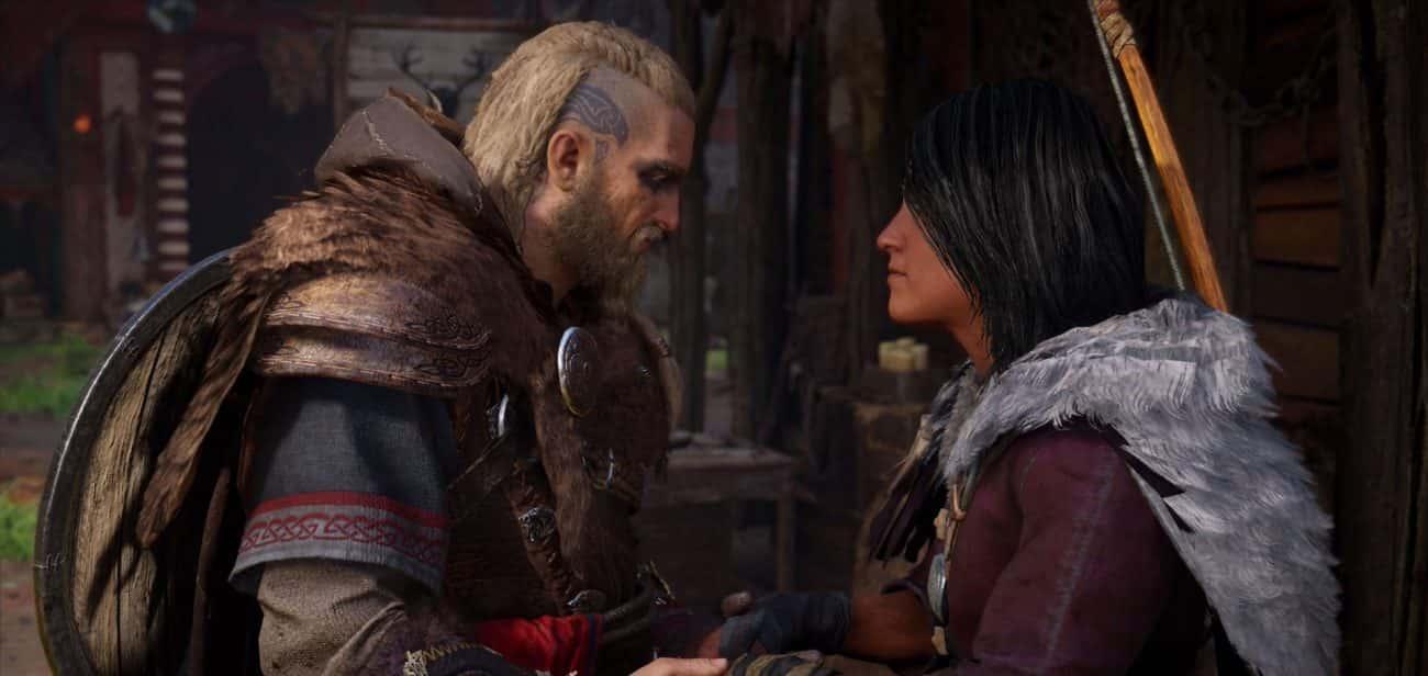 روابط در بازی assassins creed valhalla