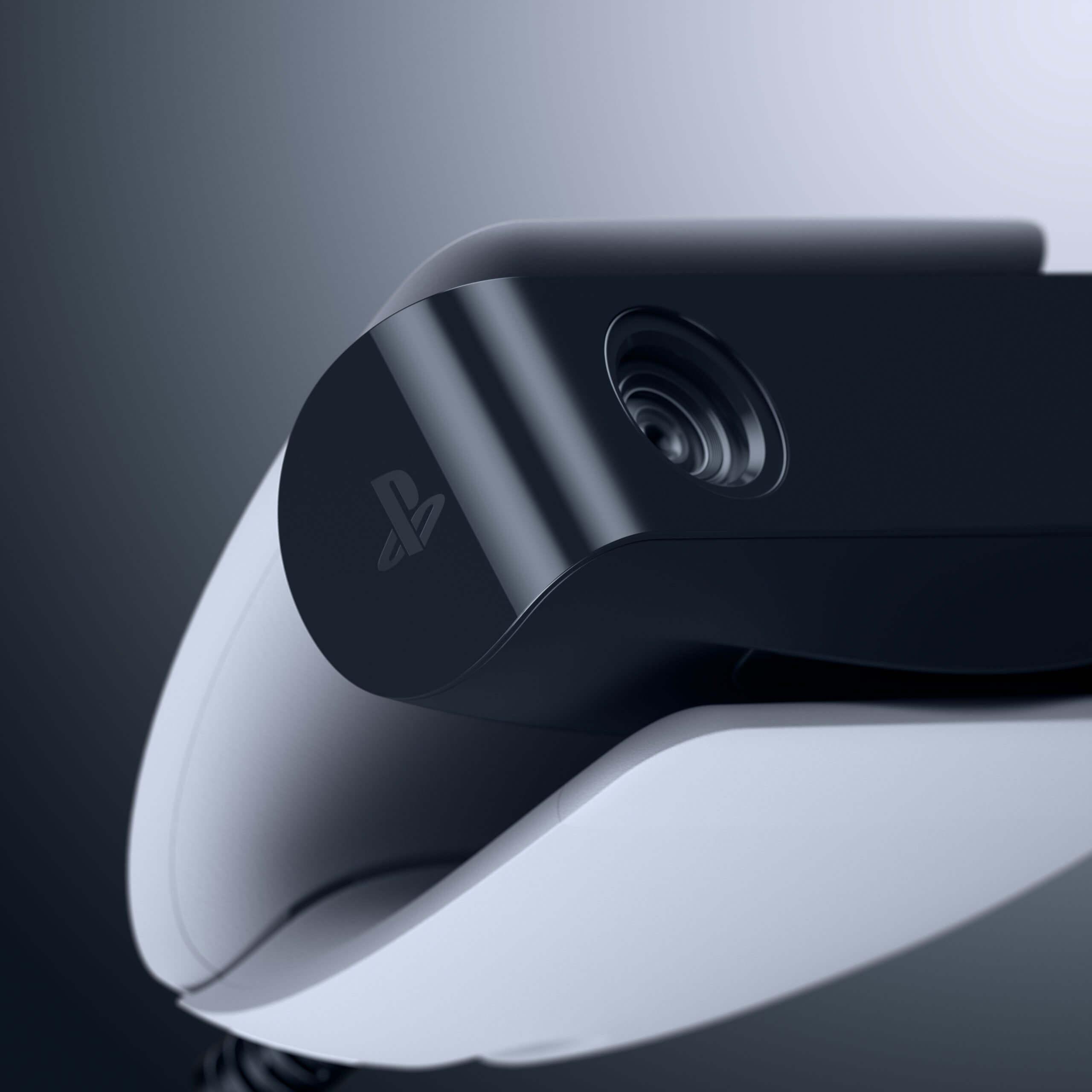 نمایی نزدیک از دوربین HD PS5