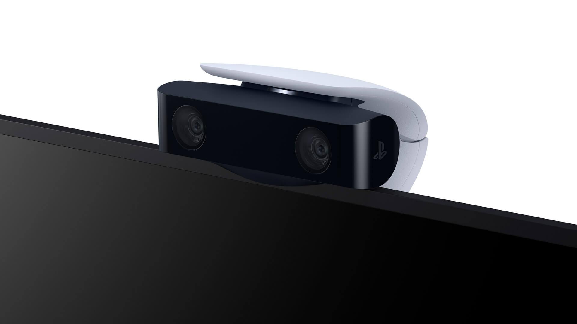 دوربین PS5 روی تلویزیون