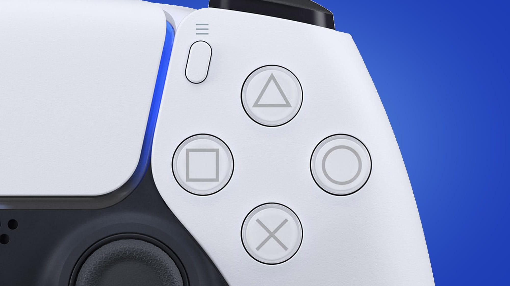 نمایی نزدیک از کنترلر PS5