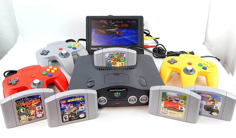 عکس کنسول بازی nintendo 64