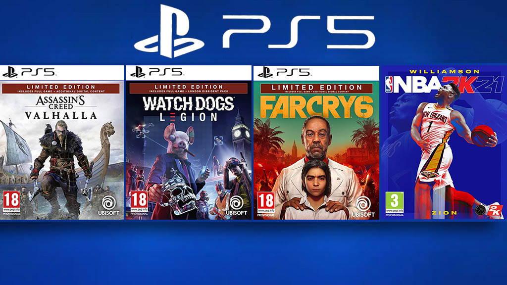 بازی های جذاب PS5
