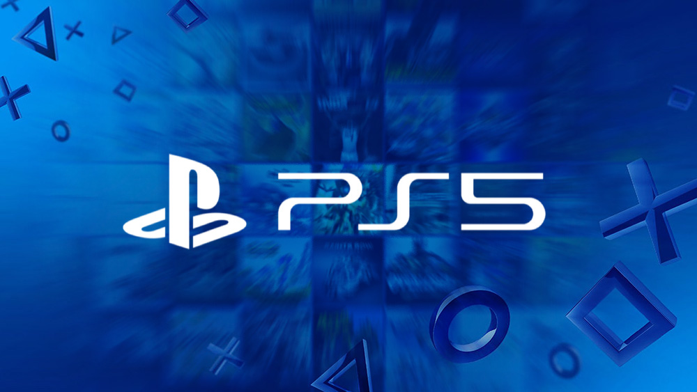 PS5 Logo Wallpaper