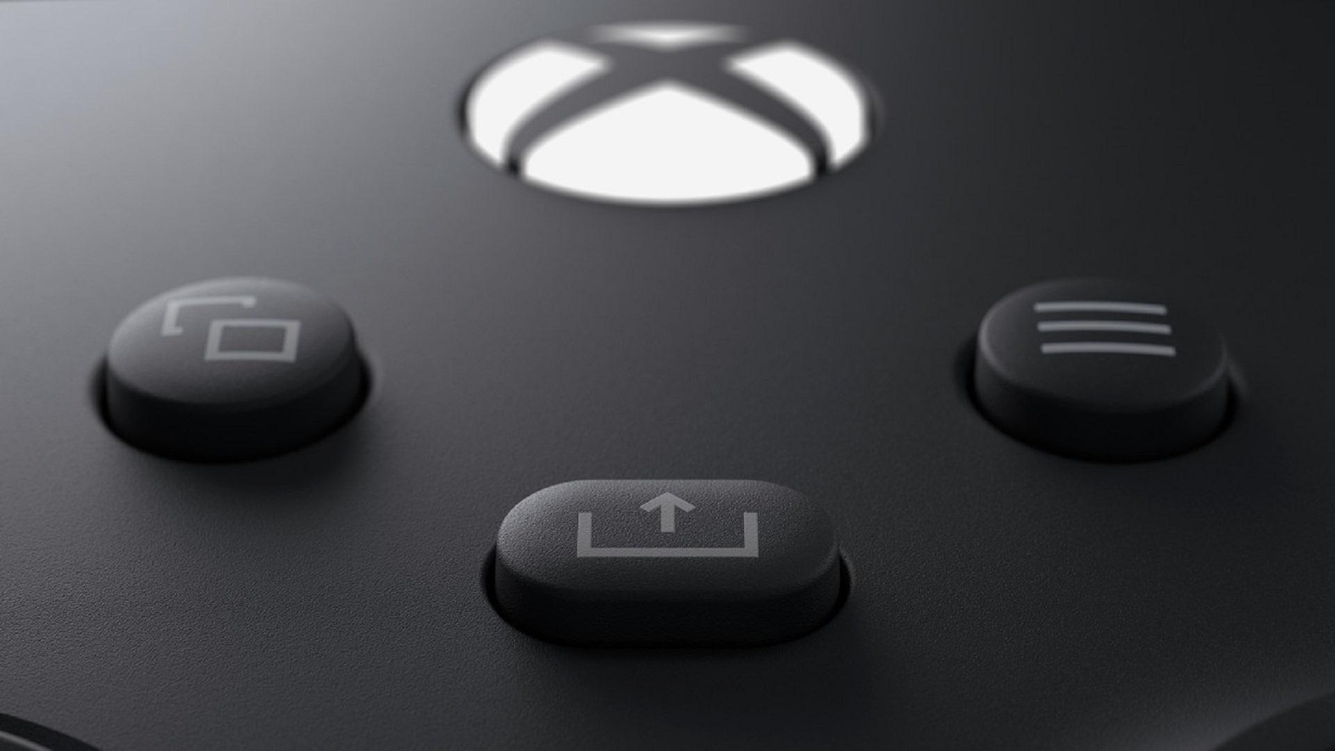 دکمه share در کنترلر ایکس باکس سری ایکس و اس