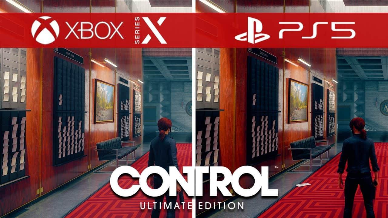 عکس از محیط بازی Control در PS5 و Xbox series x