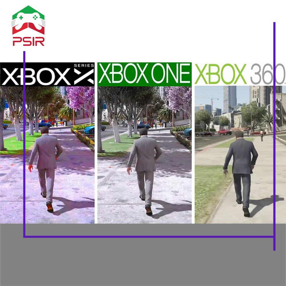 مقایسه گرافیکی بازی ها در xbox 360 ,xbox one ,xbox series x