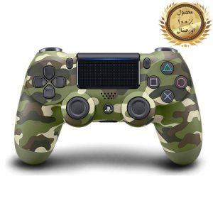 خرید کنترلر (دسته) PS4 | فابریکی اورجینال | ارتشی - استوک