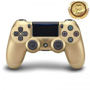 خرید کنترلر (دسته) PS4 | فابریکی اورجینال | طلایی - استوک