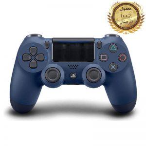 خرید کنترلر (دسته) PS4 | فابریکی اورجینال | سرمه ای - استوک