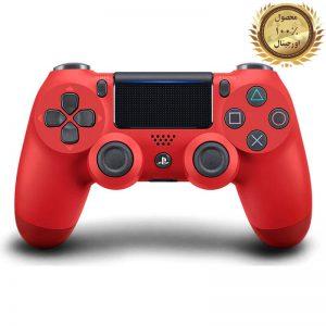خرید کنترلر (دسته) PS4 | فابریکی اورجینال | قرمز - استوک