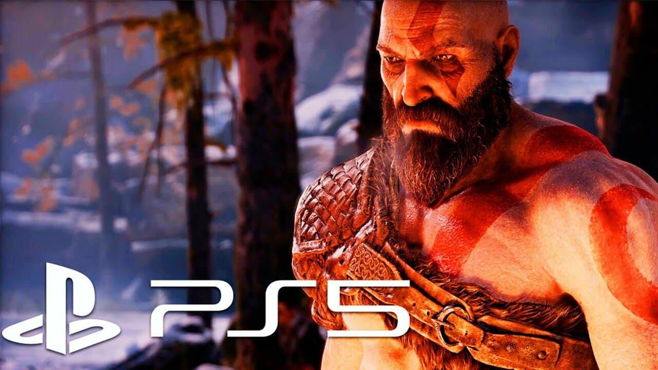 عکسی از محیط بازی God Of War در کنسول PS5