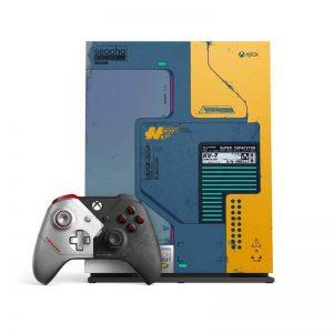 خرید XBOX ONE X باندل cyberpunk 2077 حافظه 1 ترابایت - استوک