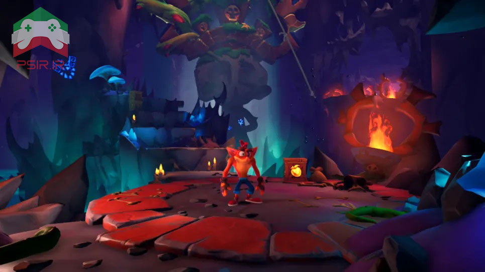 مقایسه بازی Crash Bandicoot 4 بر روی نینتندو سوئیچ و ps5 تصویر ۳