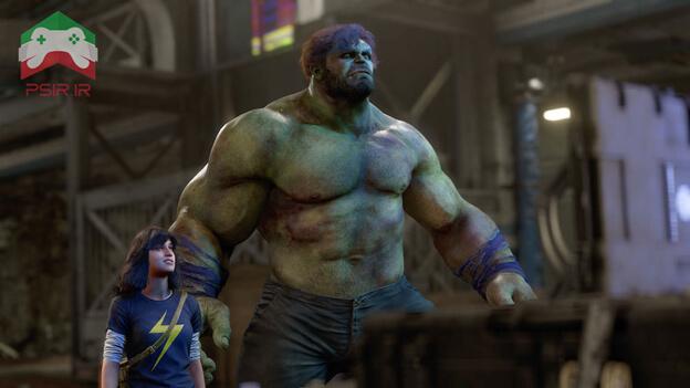 تصویر بازی marvel avengers