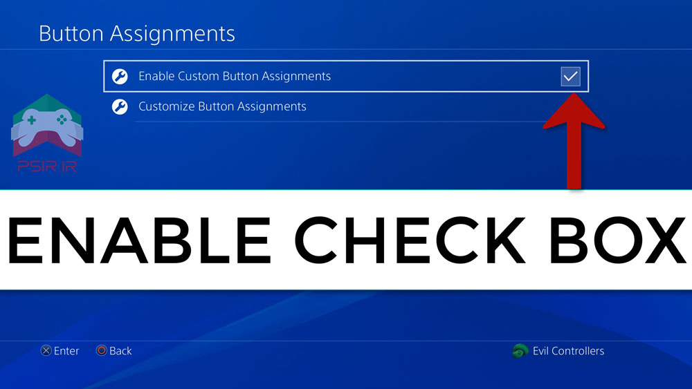 تغییر عملکرد دکمه های دسته پلی استیشن ۴ تصویر ۴