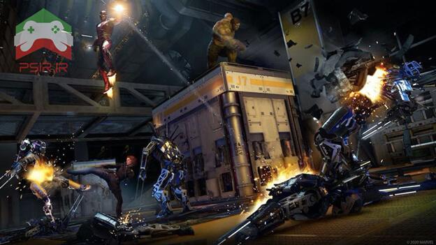 تصویری از بازی marvel avengers