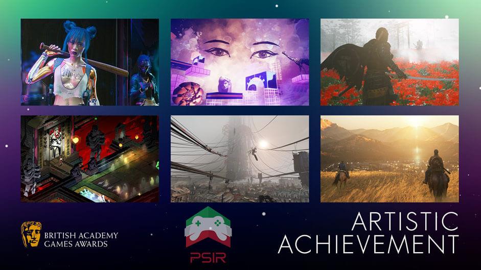 bafta game awards بهترین دستاورد هنری