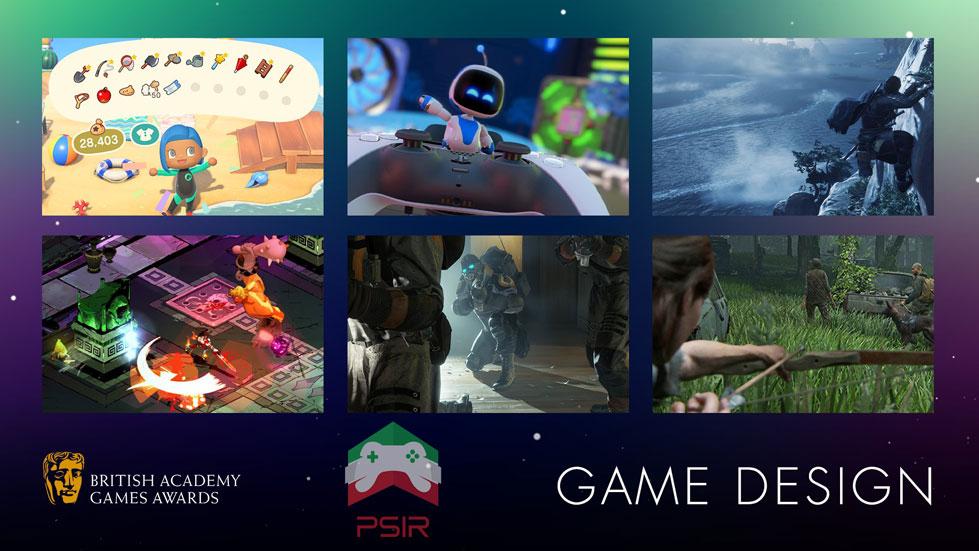 bafta game awards بهترین طراحی بازی
