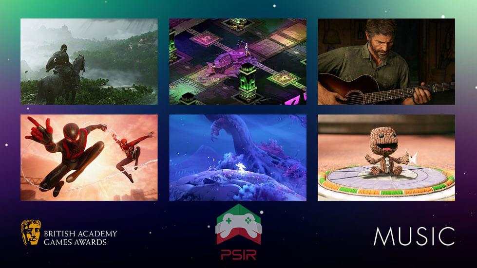 bafta game awards بهترین موسیقی