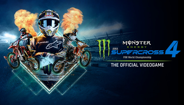 پوستر بازی Monster Energy Supercross 4