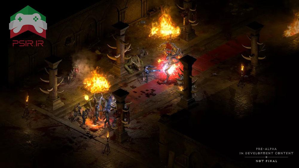 تصویر از محیط بازی Diablo 2 Resurrected